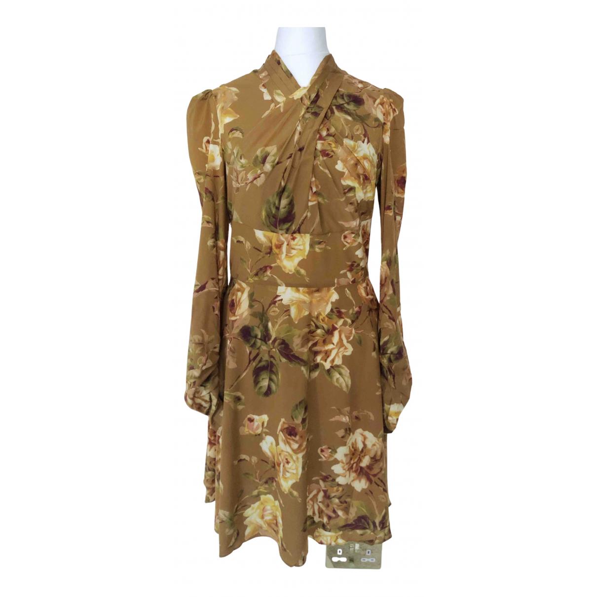 Mini vestido de Seda Zimmermann