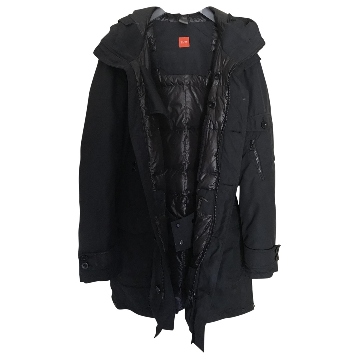 Boss - Manteau   pour homme - noir