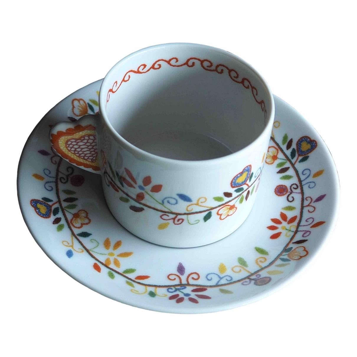 Juego de te/cafe de Porcelana Non Signe / Unsigned