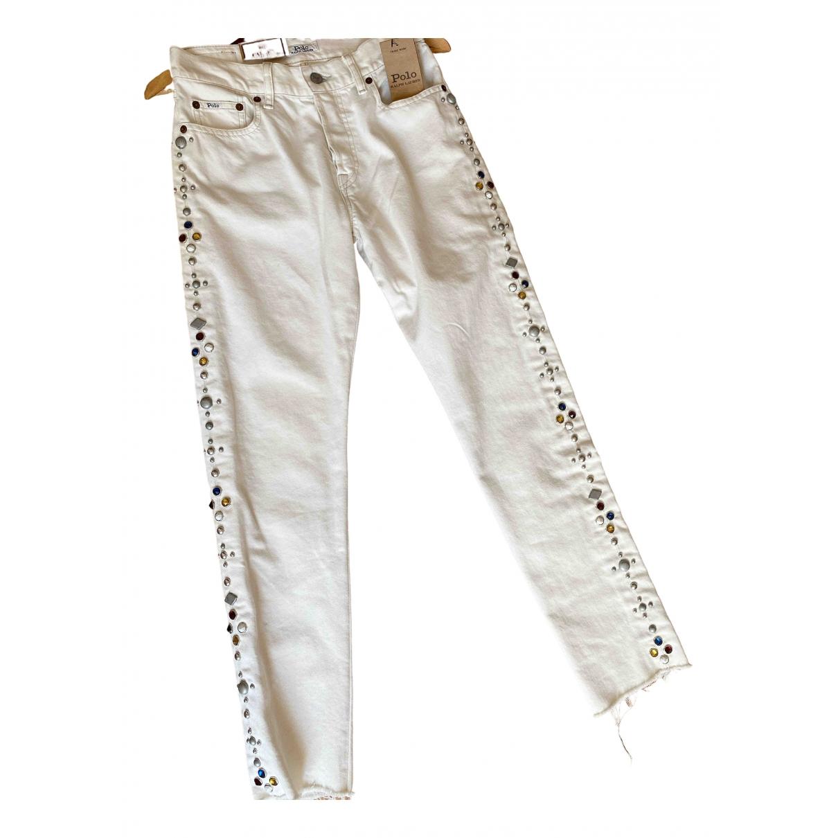 Polo Ralph Lauren \N Ecru Denim - Jeans Jeans for Women 25 US