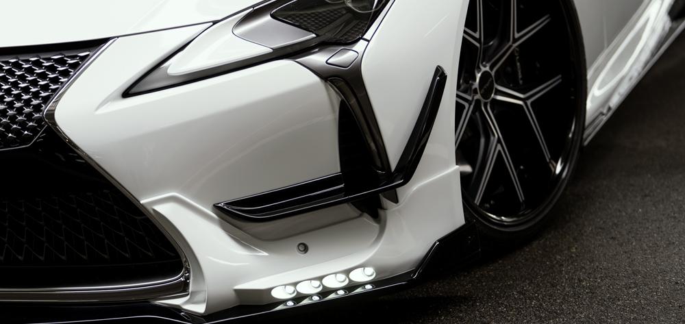 Wald USA LC500.C.17 Sports Line Front Canard Lexus LC500 16-18
