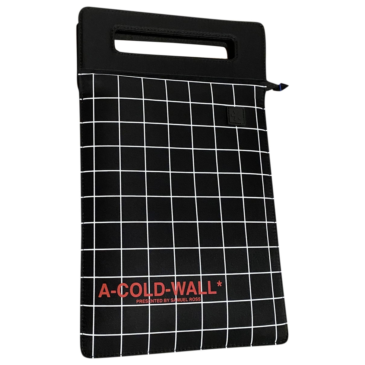 A-cold-wall \N Black Small bag, wallet & cases for Men \N