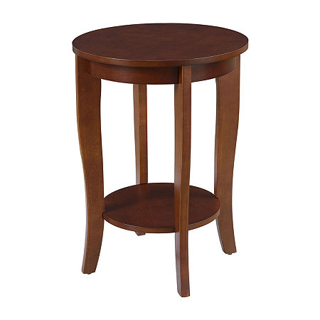 End Table, One Size , Brown