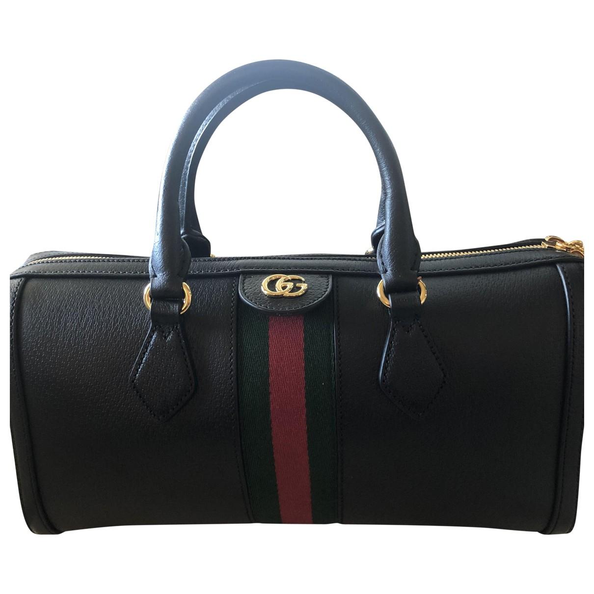 Gucci Ophidia Black Leather handbag for Women \N