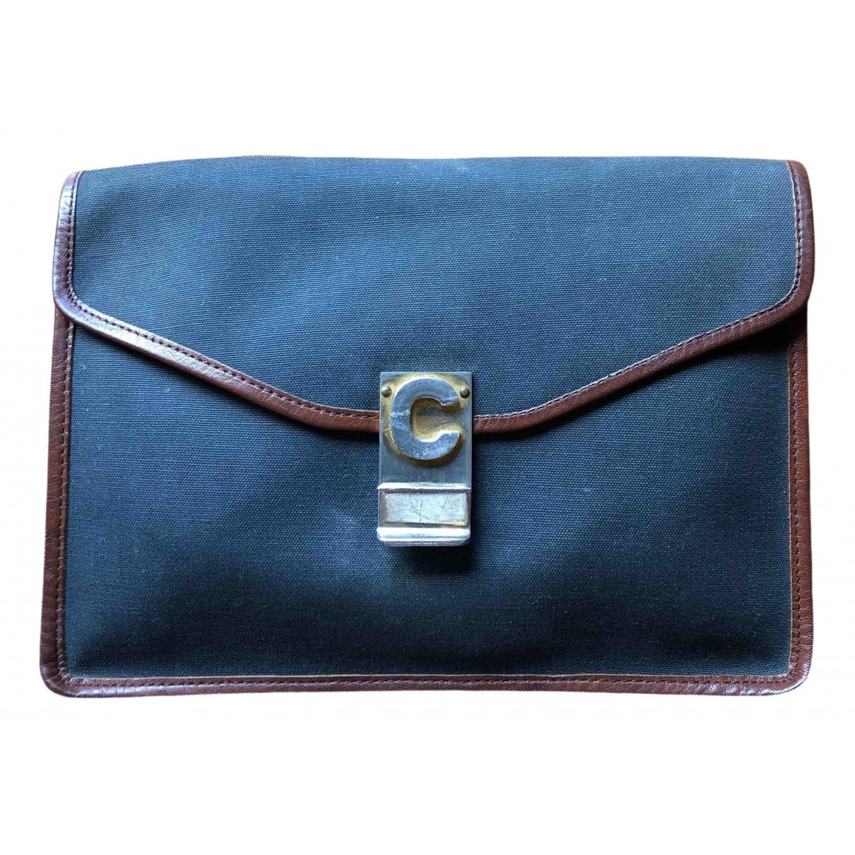 Celine \N Grey Cloth Clutch bag for Women \N