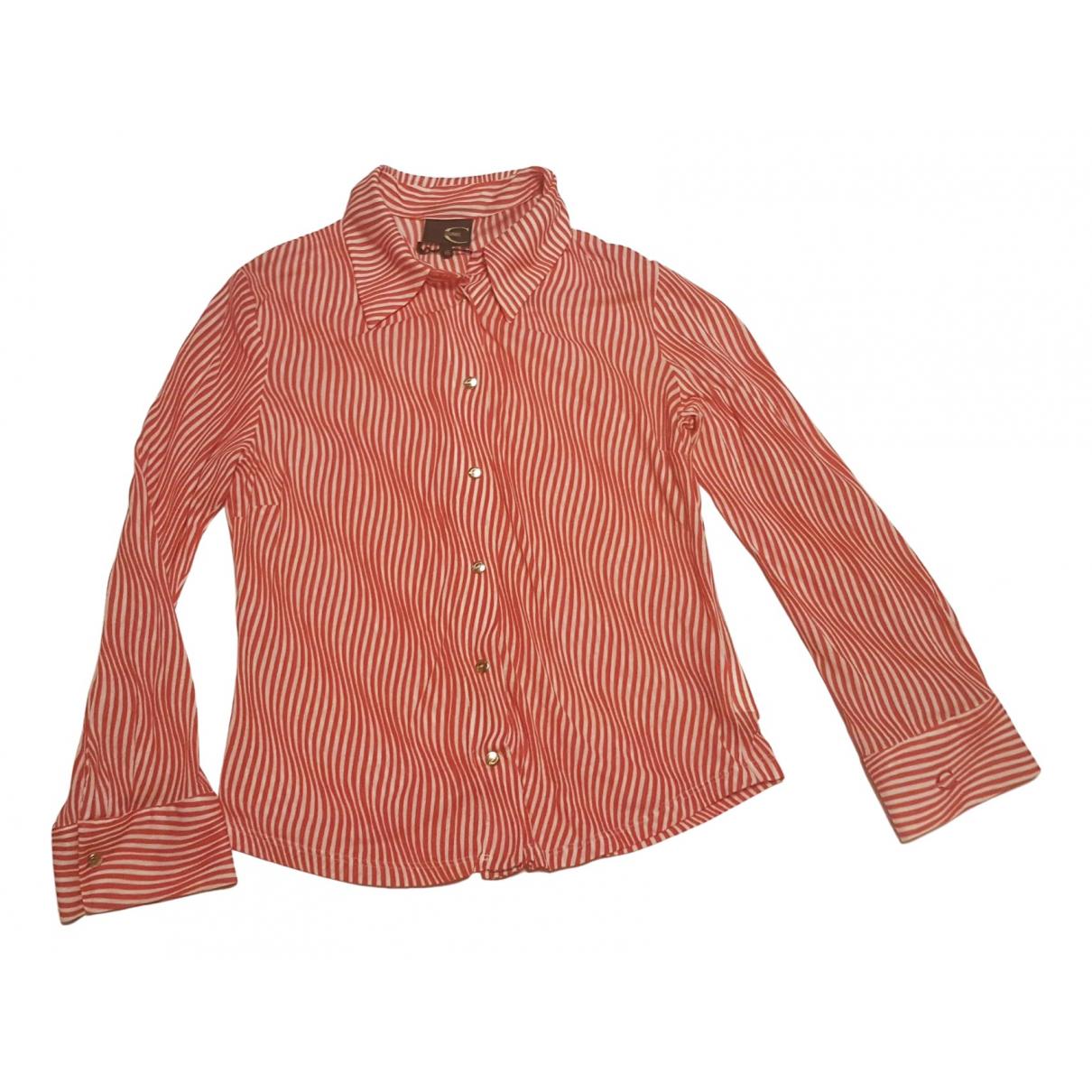 Just Cavalli - Top   pour femme en coton - rouge