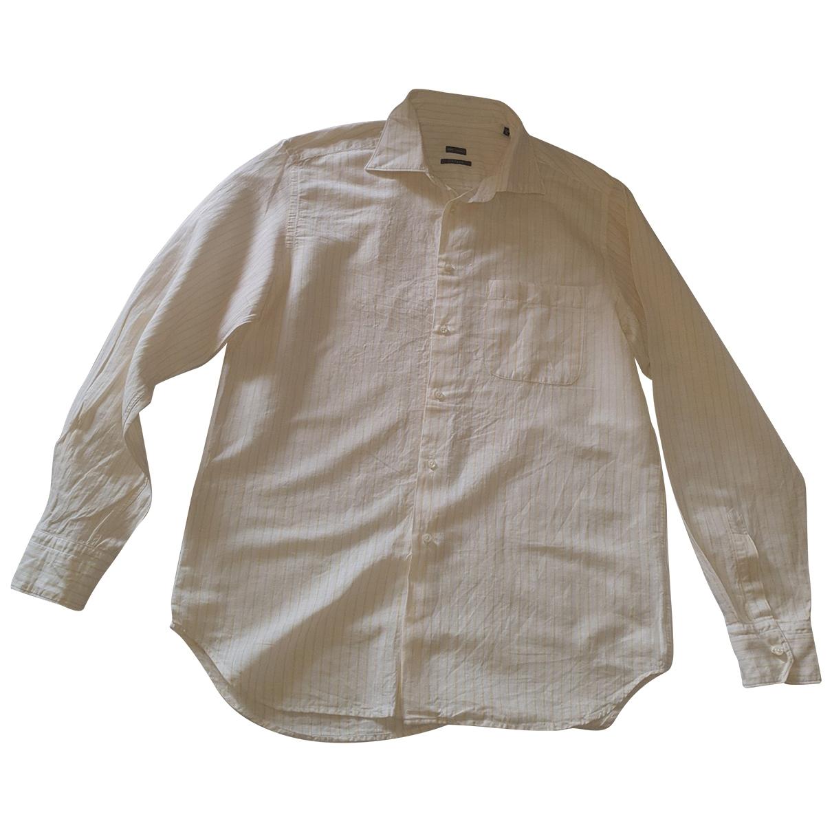 Non Signe / Unsigned \N Hemden in Leinen