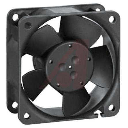 ebm-papst , 24 V dc, DC Axial Fan, 60 x 60 x 25mm, 56m³/h, 2.9W