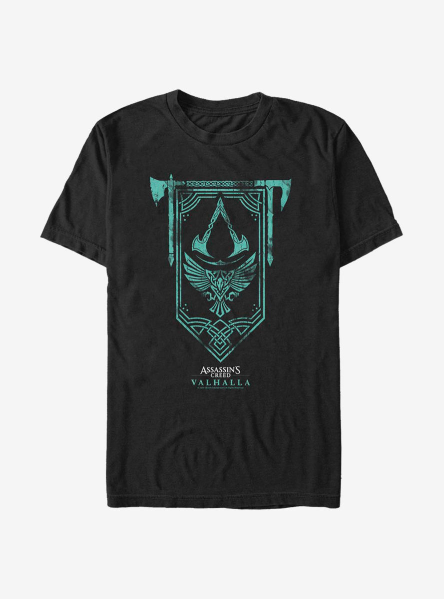 Assassins Creed Valhalla Live Think Conquer T-Shirt