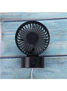Cute and Quiet Mini USB Strong Airflow Dual Fan Blade Portable Fan