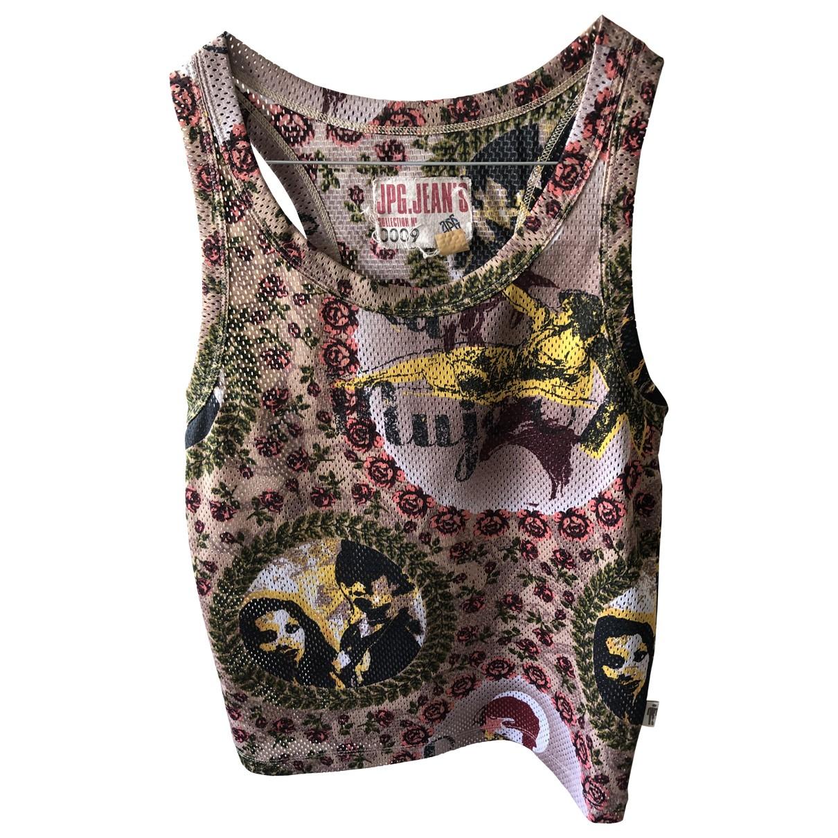 Jean Paul Gaultier - Top   pour femme en coton - multicolore