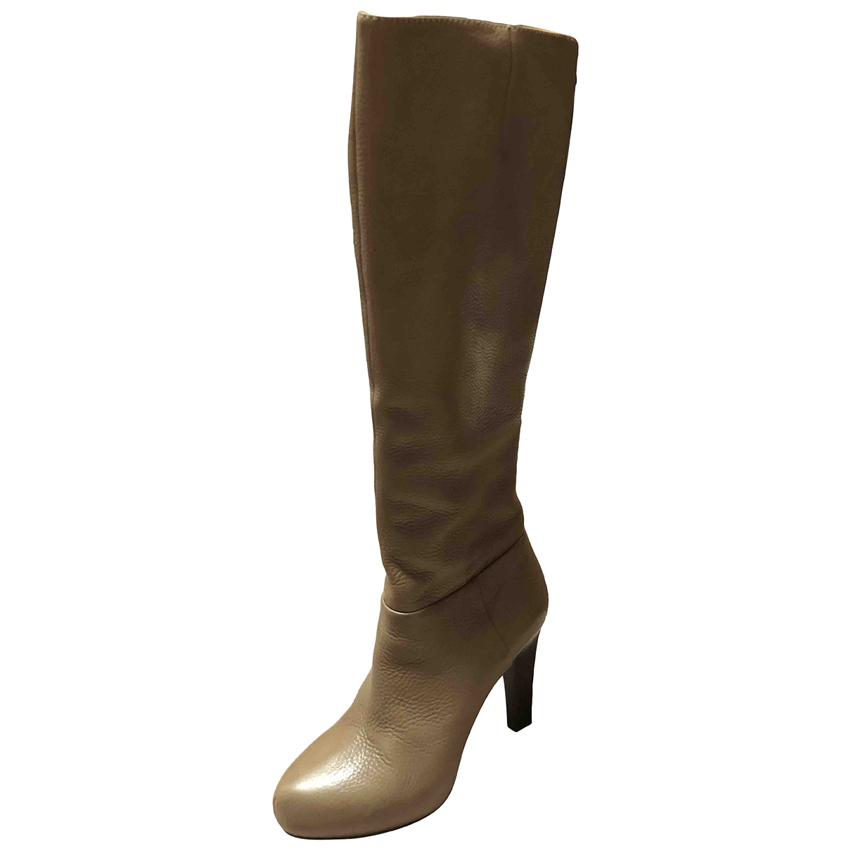 Liu.jo \N Brown Leather Boots for Women 39 EU