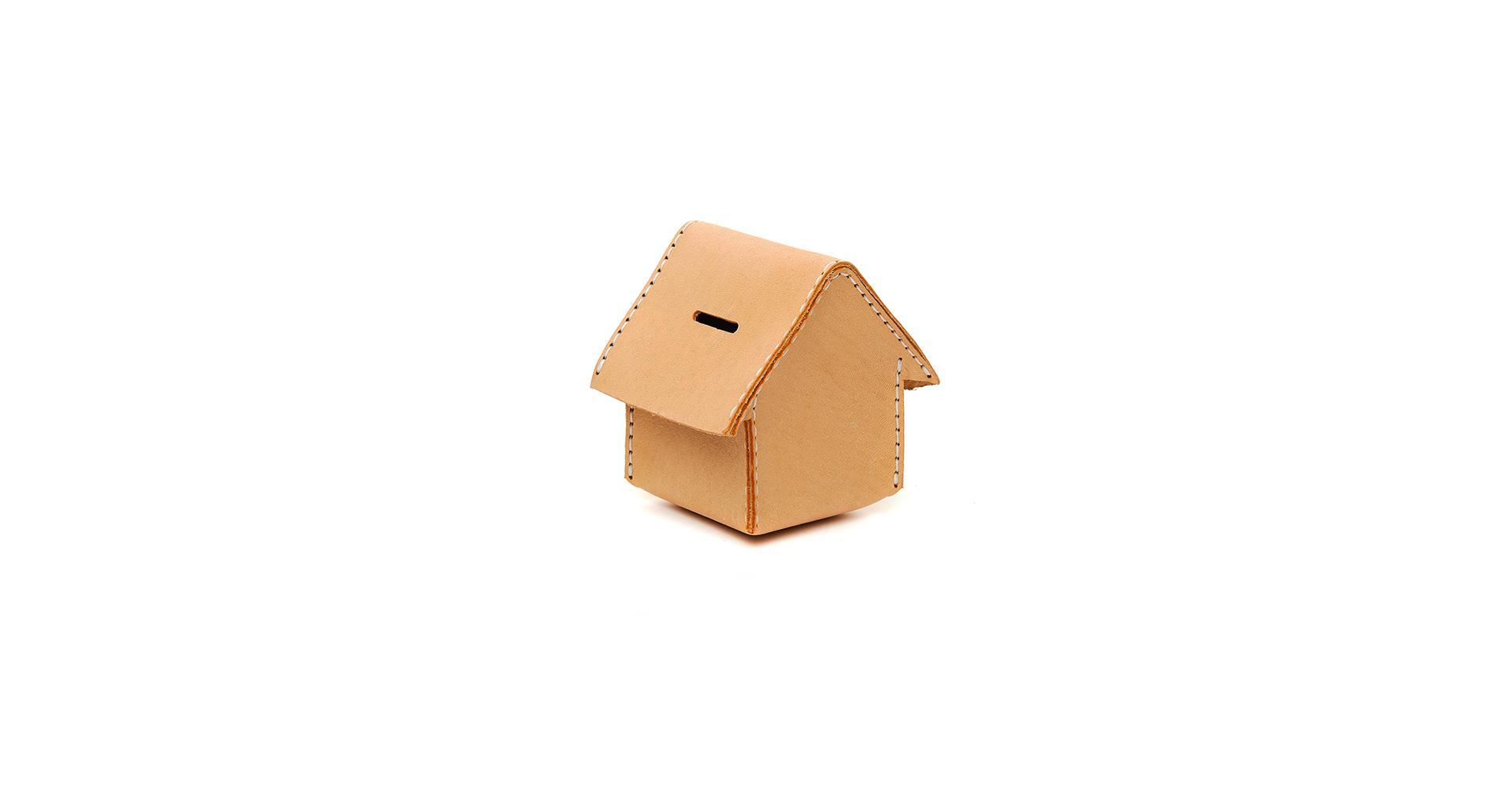 Hender Scheme Leather Home Moneybox