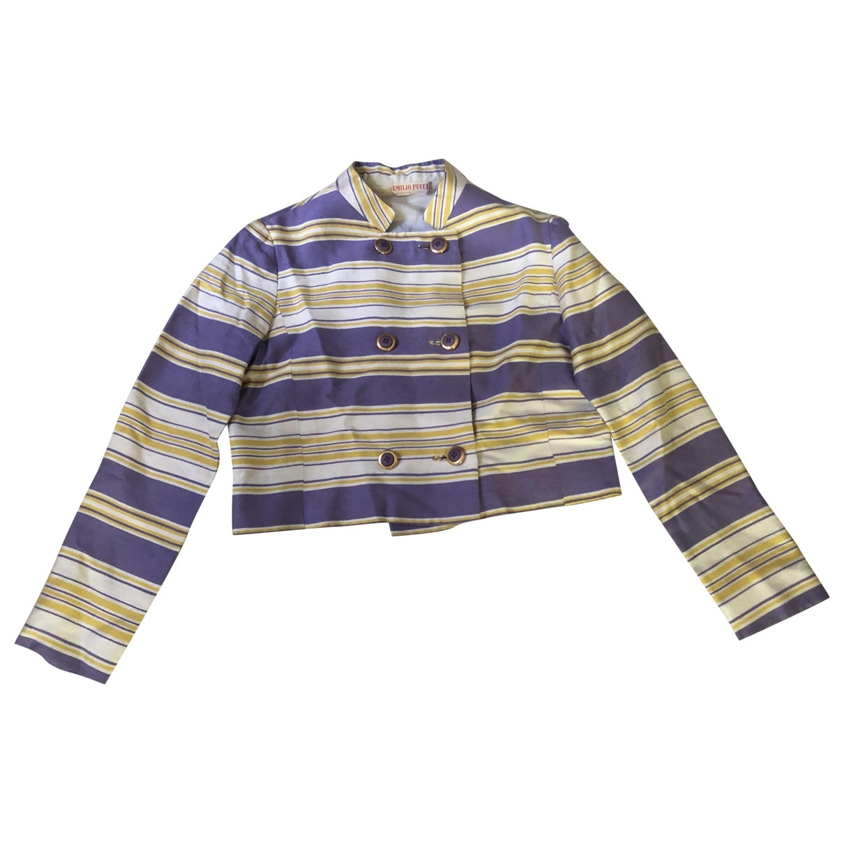 Emilio Pucci \N Multicolour Silk jacket for Women 42 IT