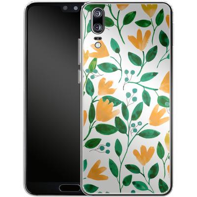 Huawei P20 Silikon Handyhuelle - Fresh Foliage von Iisa Monttinen