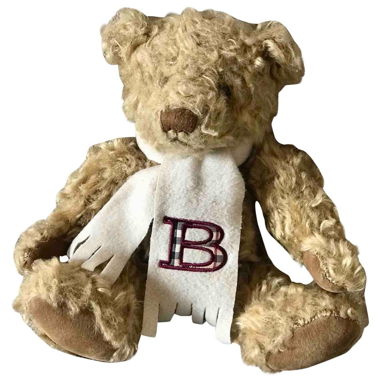Burberry - Jouets   pour lifestyle en coton - marron