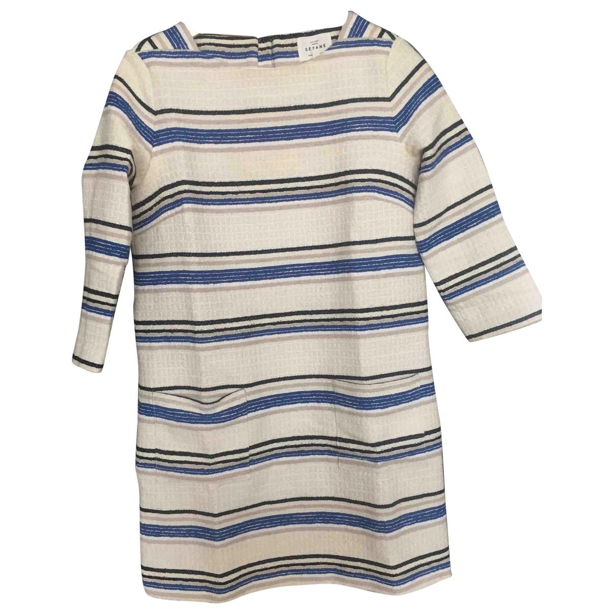 Sezane - Robe   pour femme en coton - multicolore