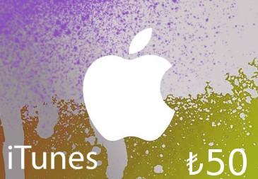 iTunes ₺50 TR Card