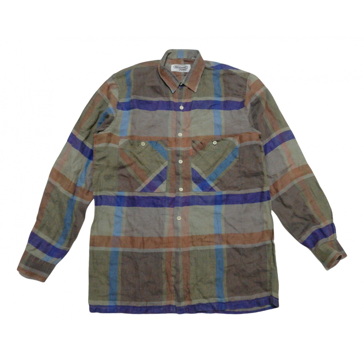 Missoni N Multicolour Linen Shirts for Men S International