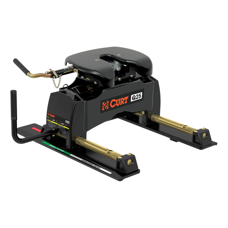 Curt 16566 Q25 5th Wheel Hitch with Roller