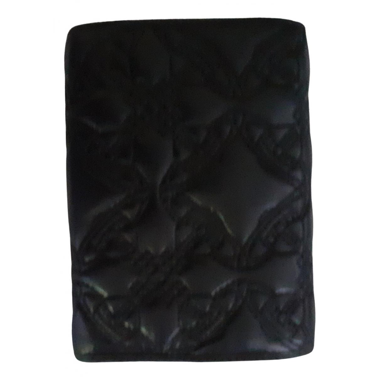 Vivienne Westwood - Petite maroquinerie   pour femme en cuir - noir