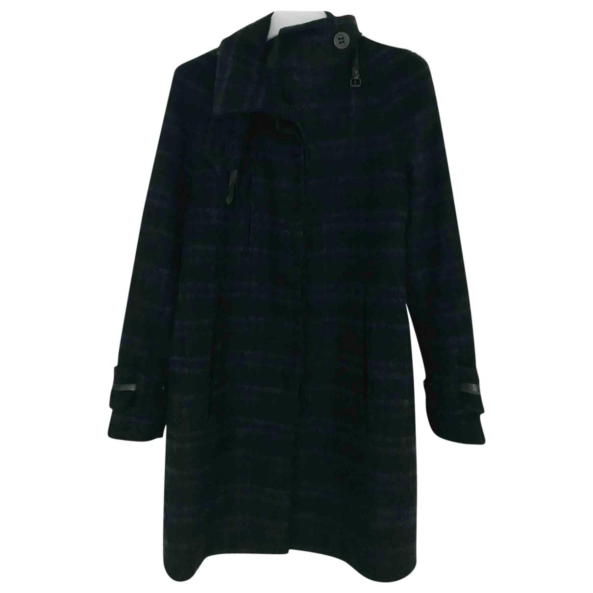 Noir By Kei Ninomoya \N Maentel in  Blau Wolle