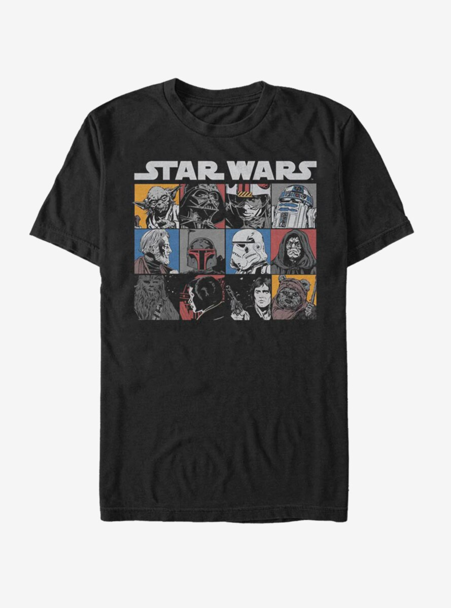 Star Wars Comic Strip Art T-Shirt
