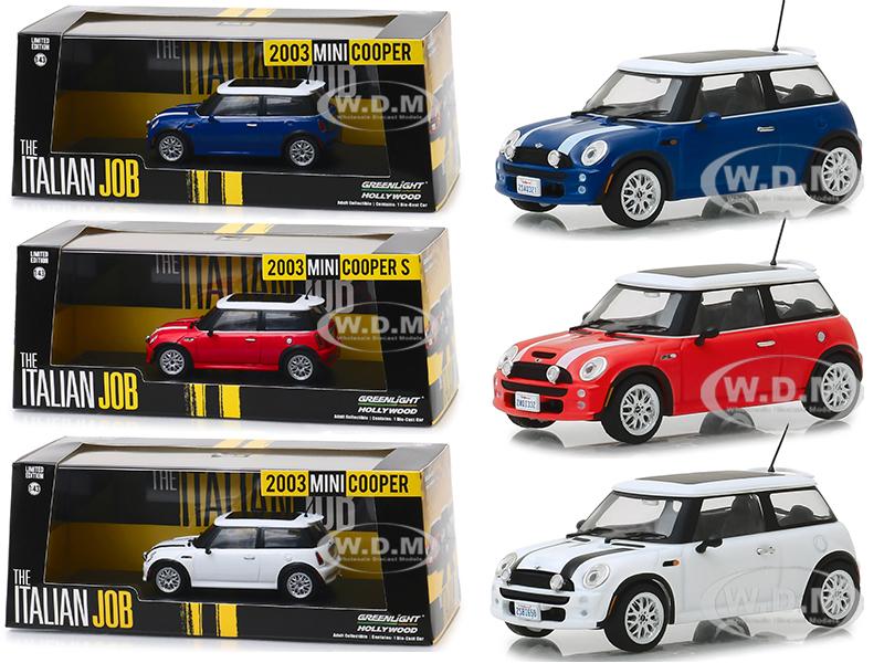 Mini Cooper 3 piece Set