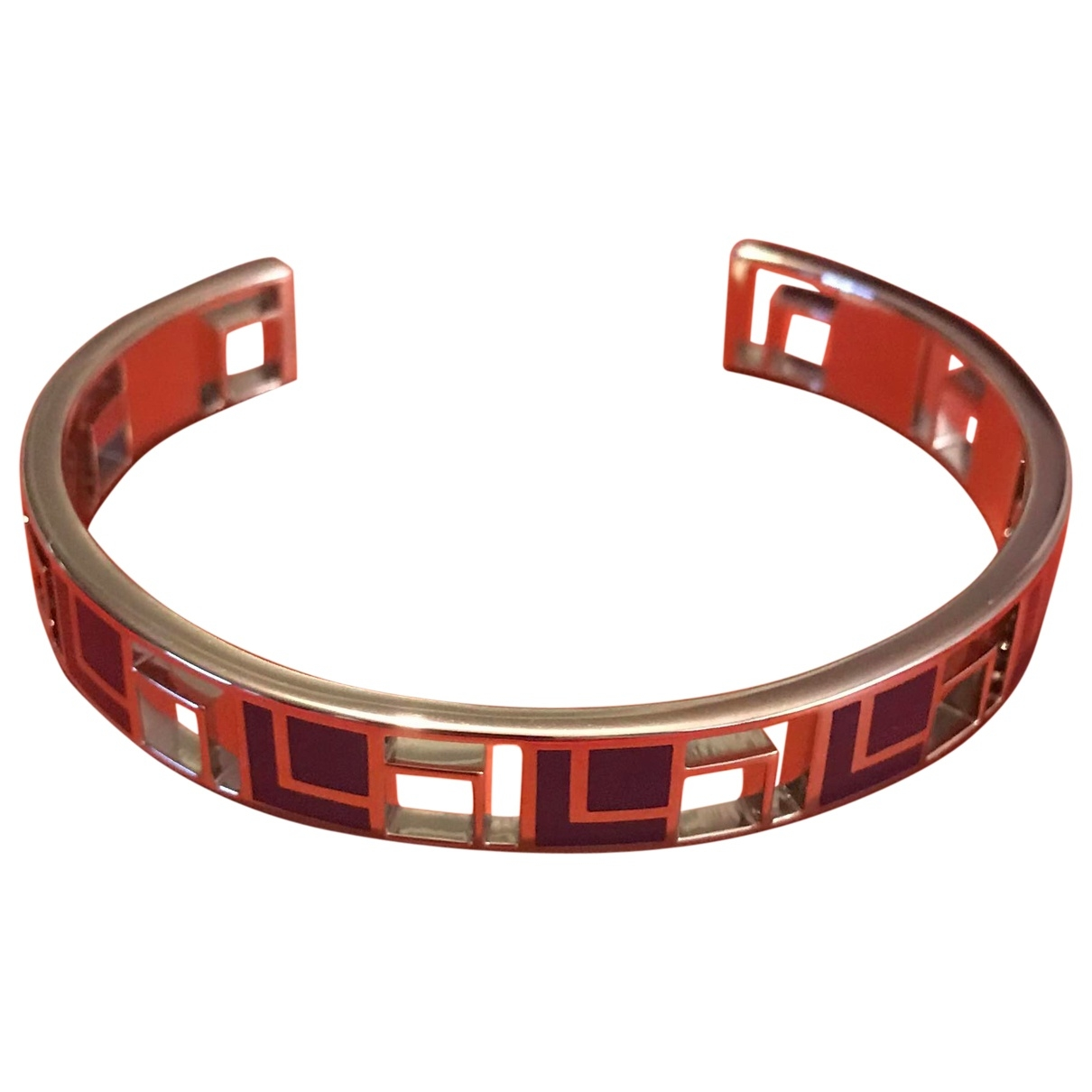 Lancel - Bracelet   pour femme en metal - bleu