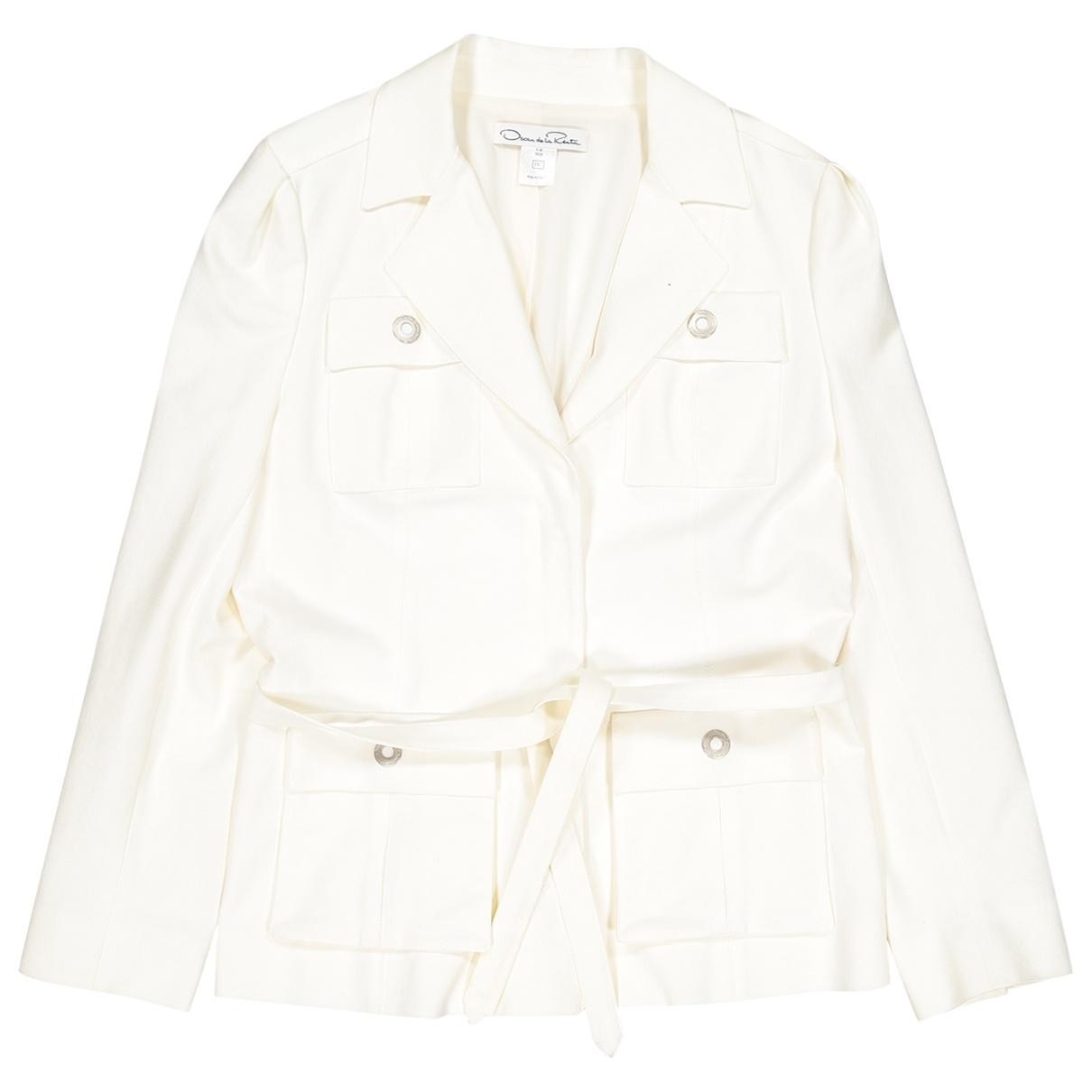 Oscar De La Renta \N Cotton jacket for Women 8 UK