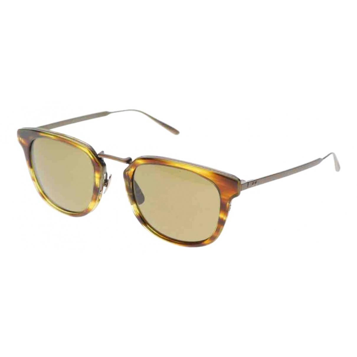 Bottega Veneta \N Sonnenbrillen in  Gold Kunststoff
