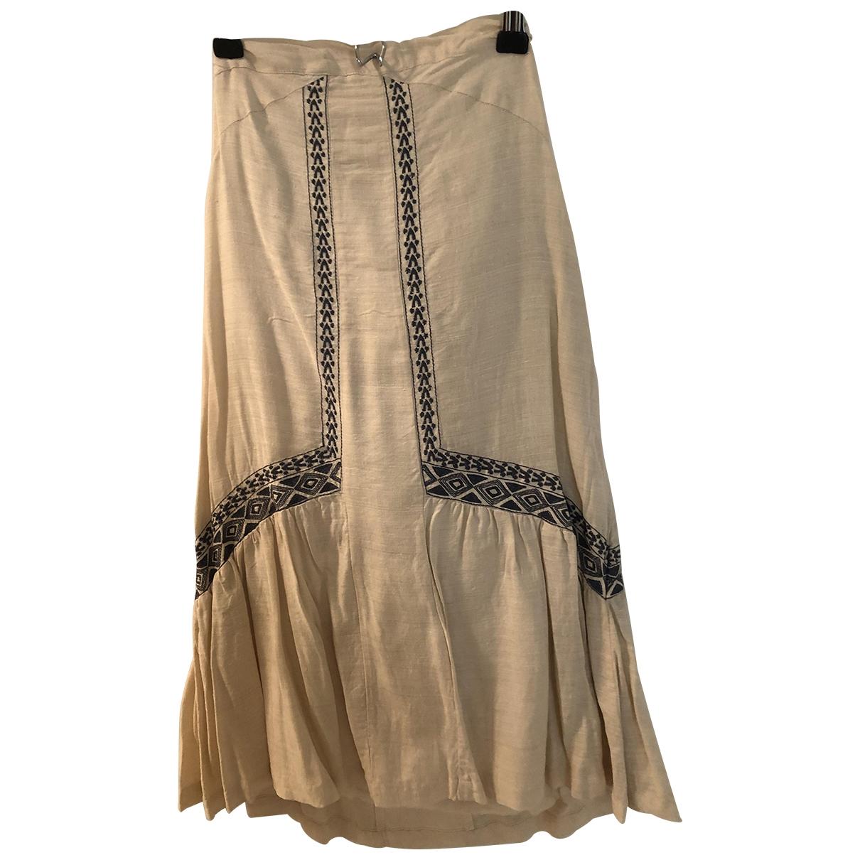 Iro \N Ecru Cotton dress for Women 36 FR