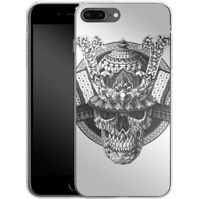 Apple iPhone 7 Plus Silikon Handyhuelle - Samurai Skull von BIOWORKZ