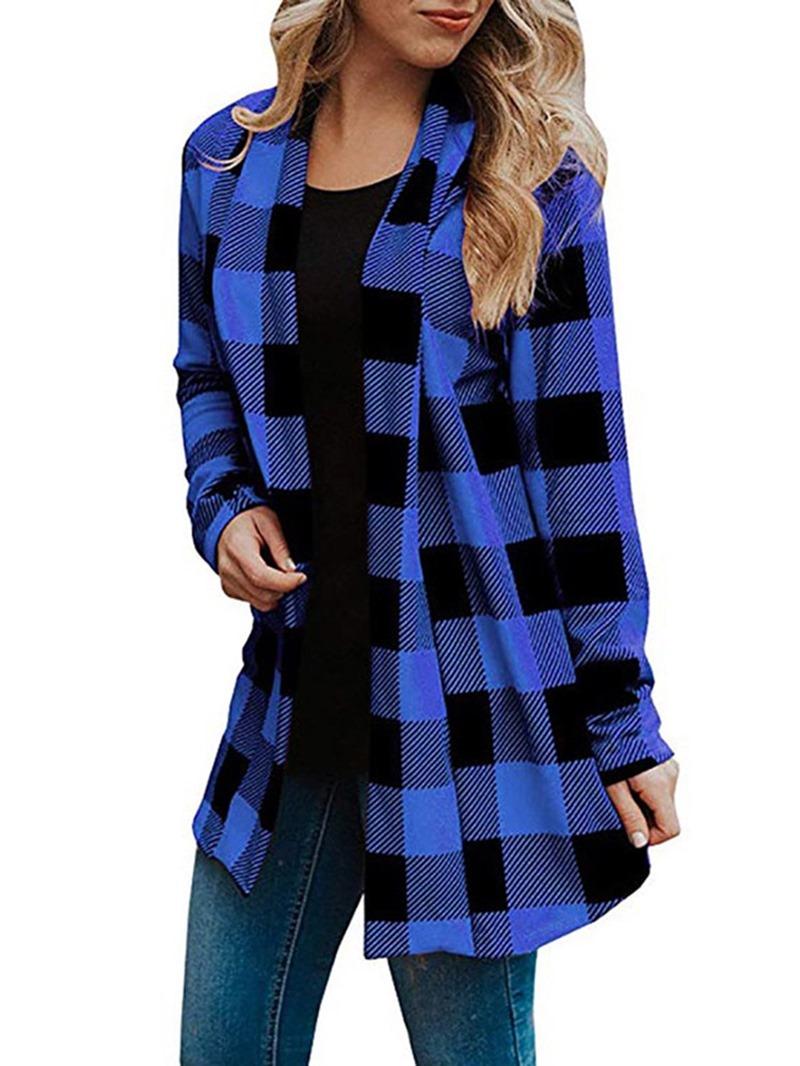 Ericdress Standard Long Sleeve Regular Trench Coat