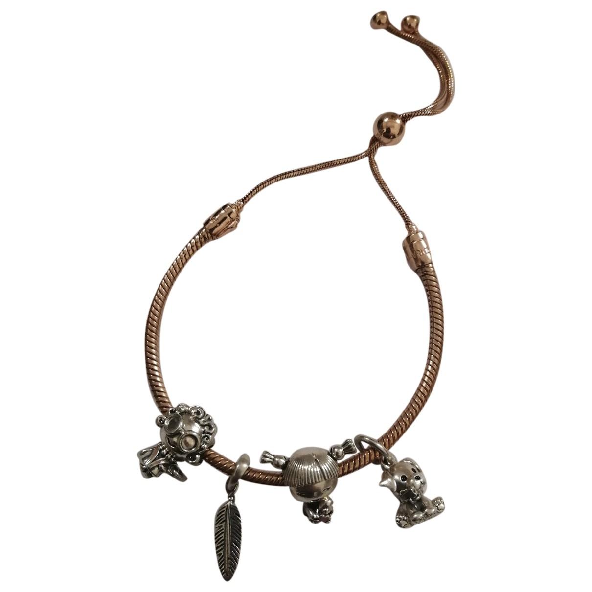 Pandora \N Pink Silver bracelet for Women \N