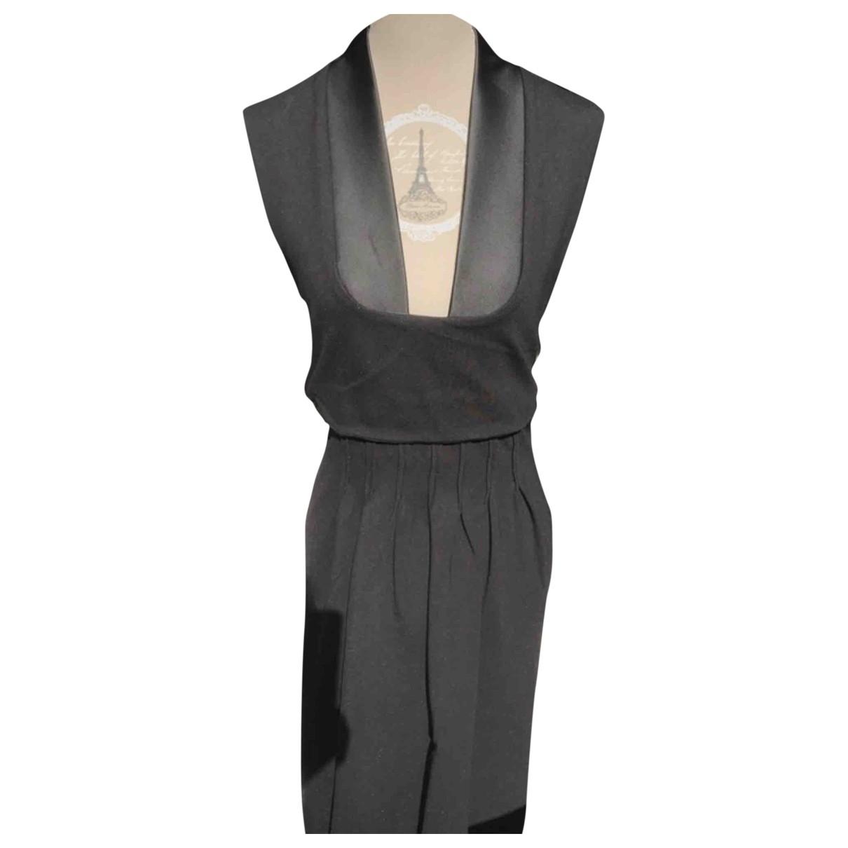 Hotel Particulier - Robe   pour femme en coton - noir