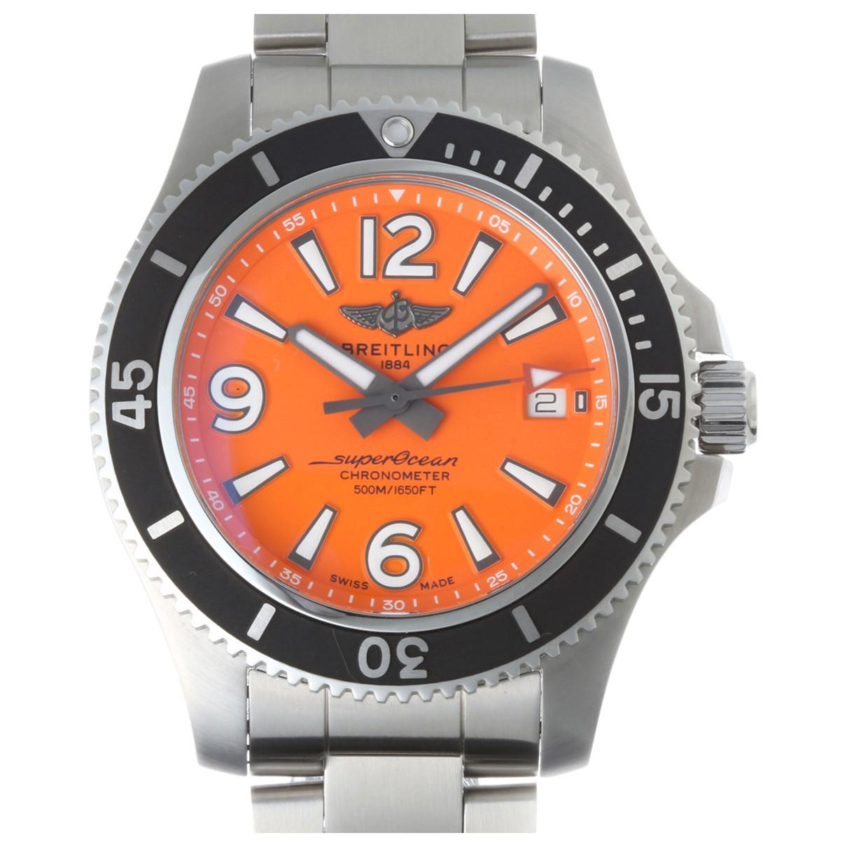 Breitling SuperOcean Silver Steel watch for Men \N
