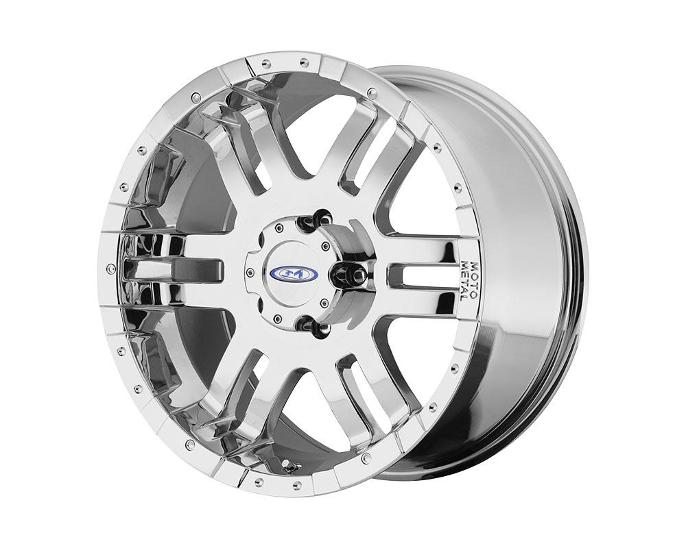 Moto Metal MO9517980212 MO951 Wheel 17x9 8x8x165.1 -12mm Chrome