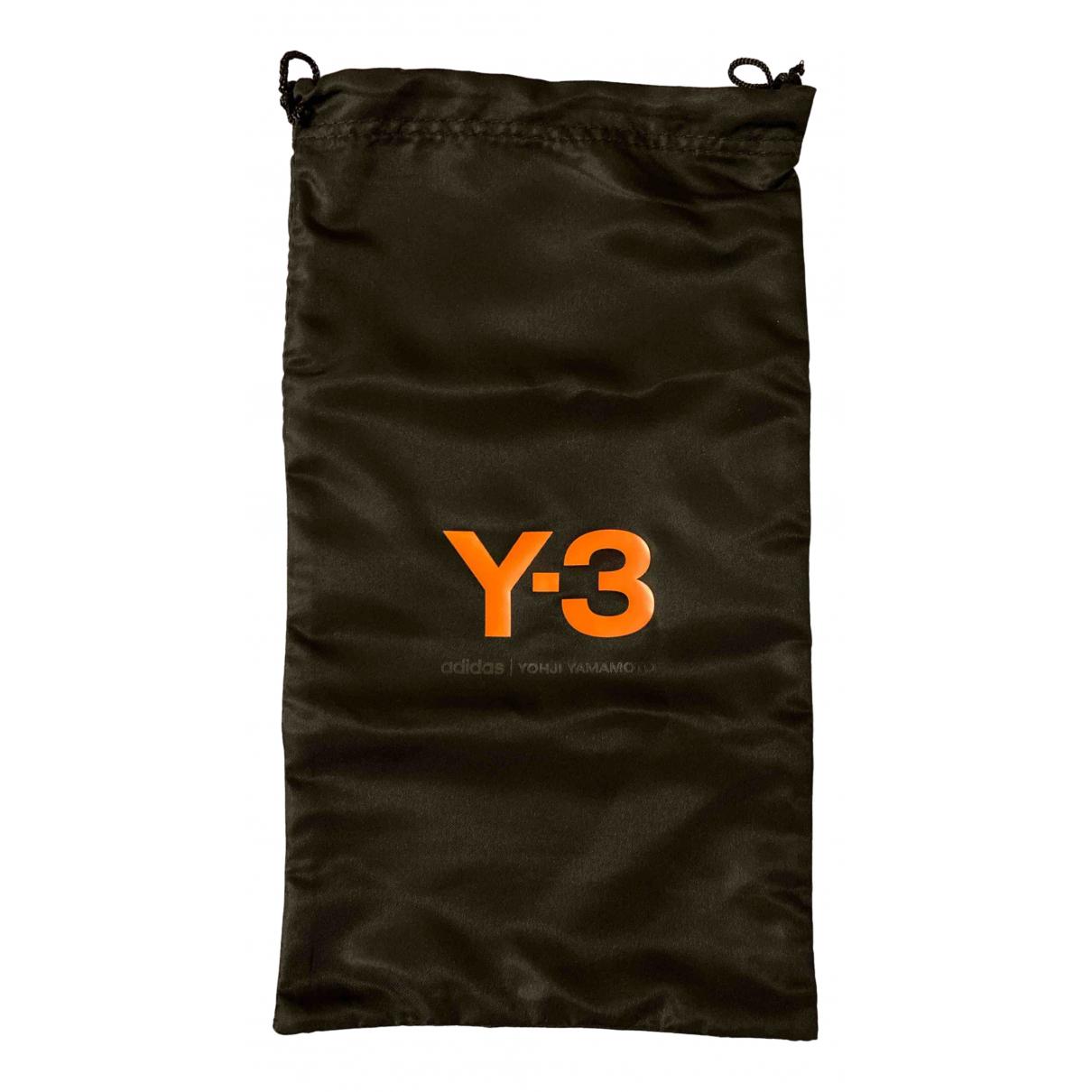Y-3 \N Clutch in  Schwarz Polyester