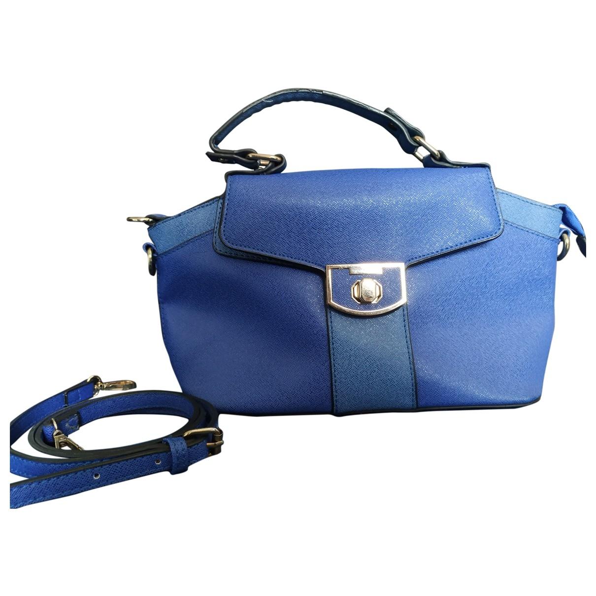 Krizia \N Blue Leather Clutch bag for Women \N