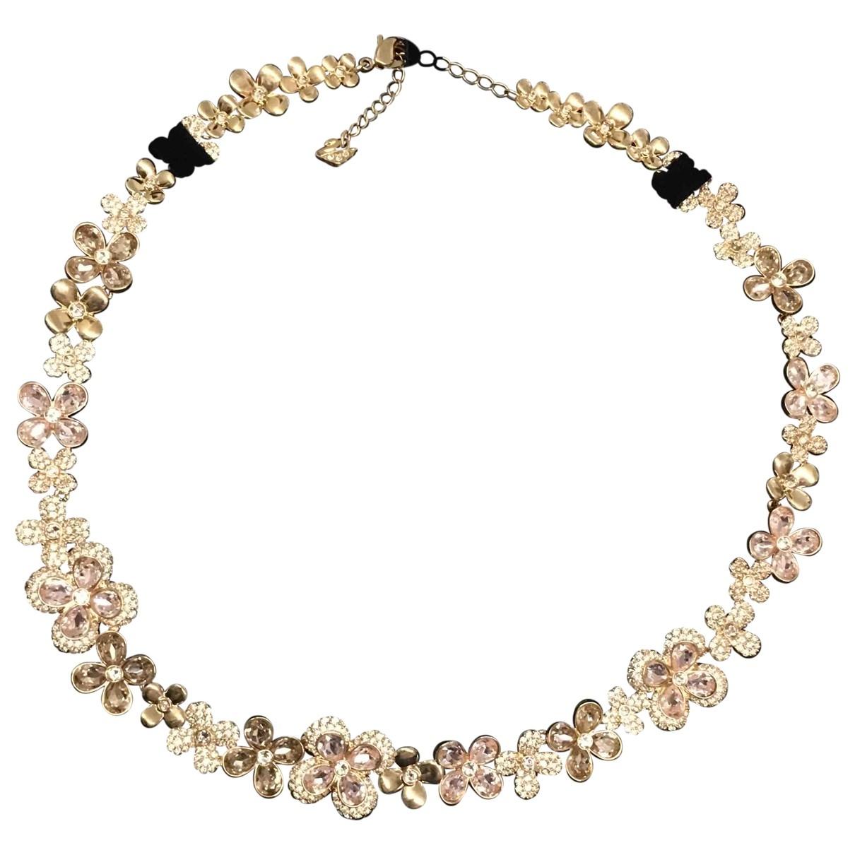 Swarovski - Collier   pour femme en cristal - rose