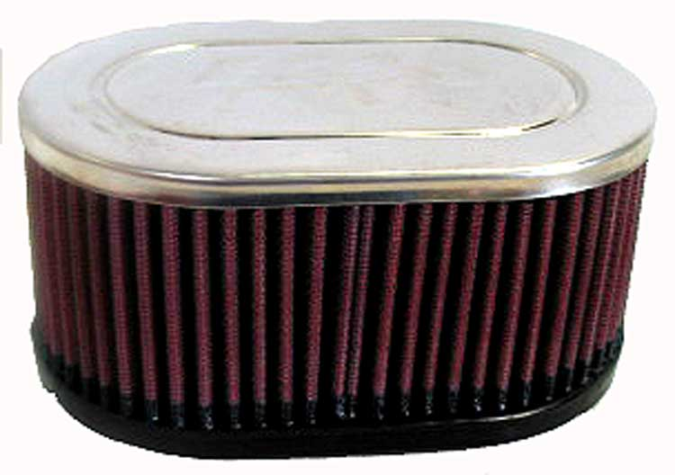 K&N RC-3510 Universal Clamp-On Air Filter