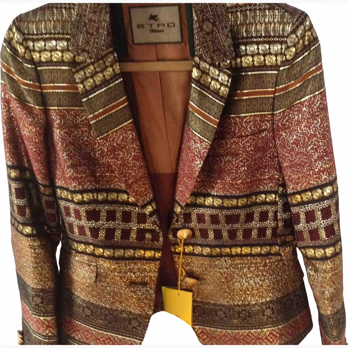 Etro \N Multicolour jacket for Women 42 IT