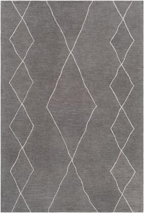 Sinop SNP-2307 8' x 10' Rectangle Global Rug in Charcoal