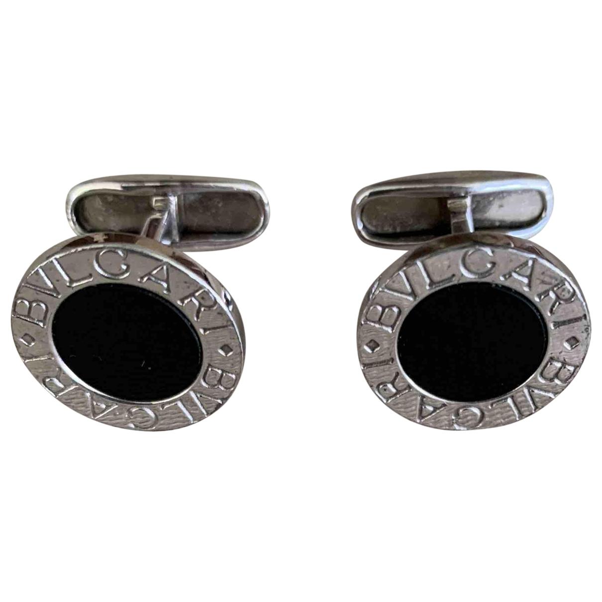 Bvlgari \N Schmuckstuecke in  Schwarz Silber