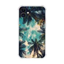 iPhone Huelle mit Kokospalme Muster