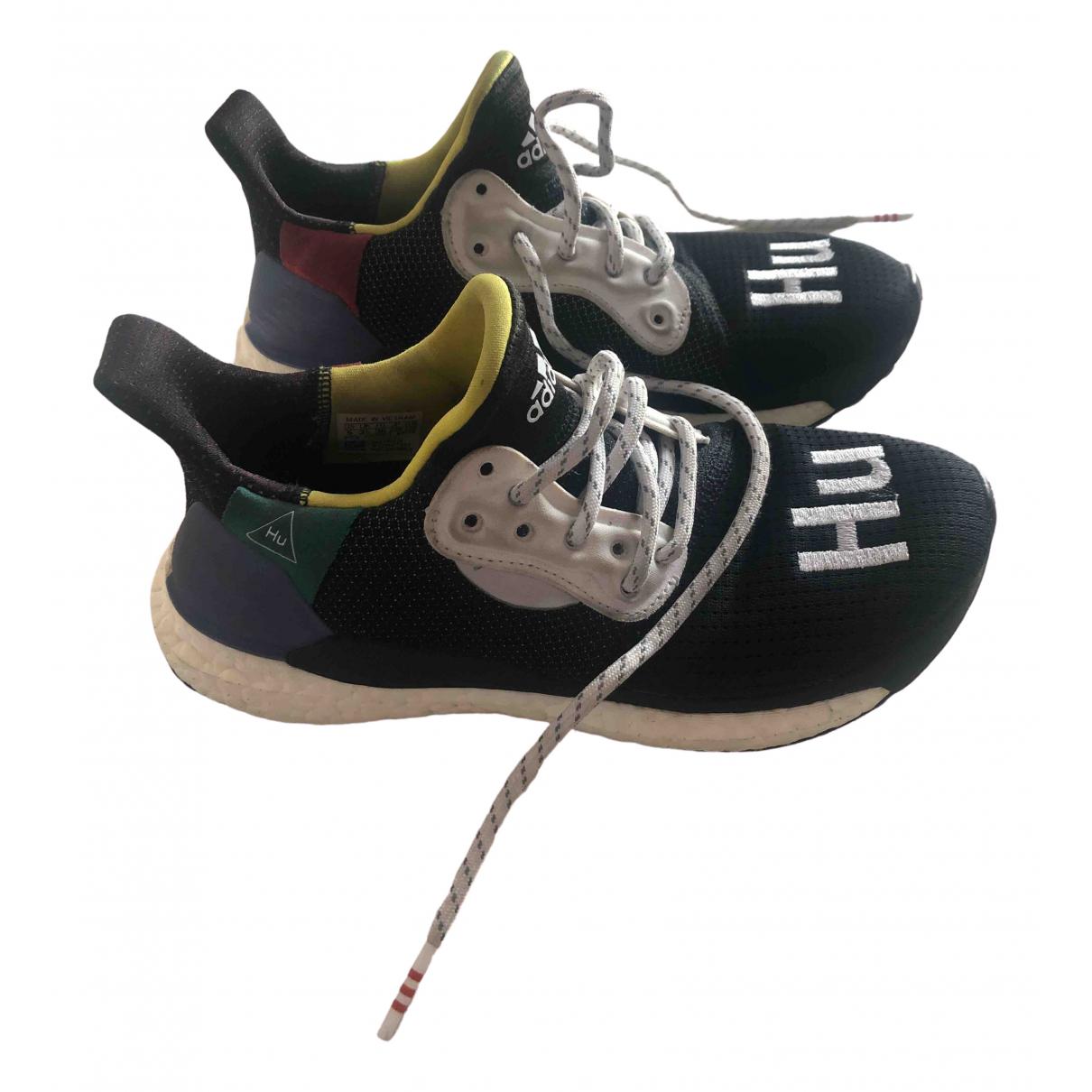 Adidas X Pharrell Williams - Baskets NMD Hu pour femme en toile - multicolore