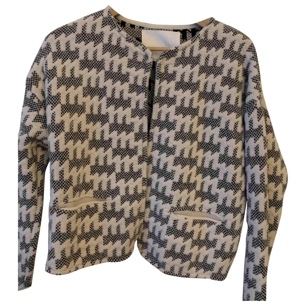 Molli - Pull   pour femme en laine - ecru