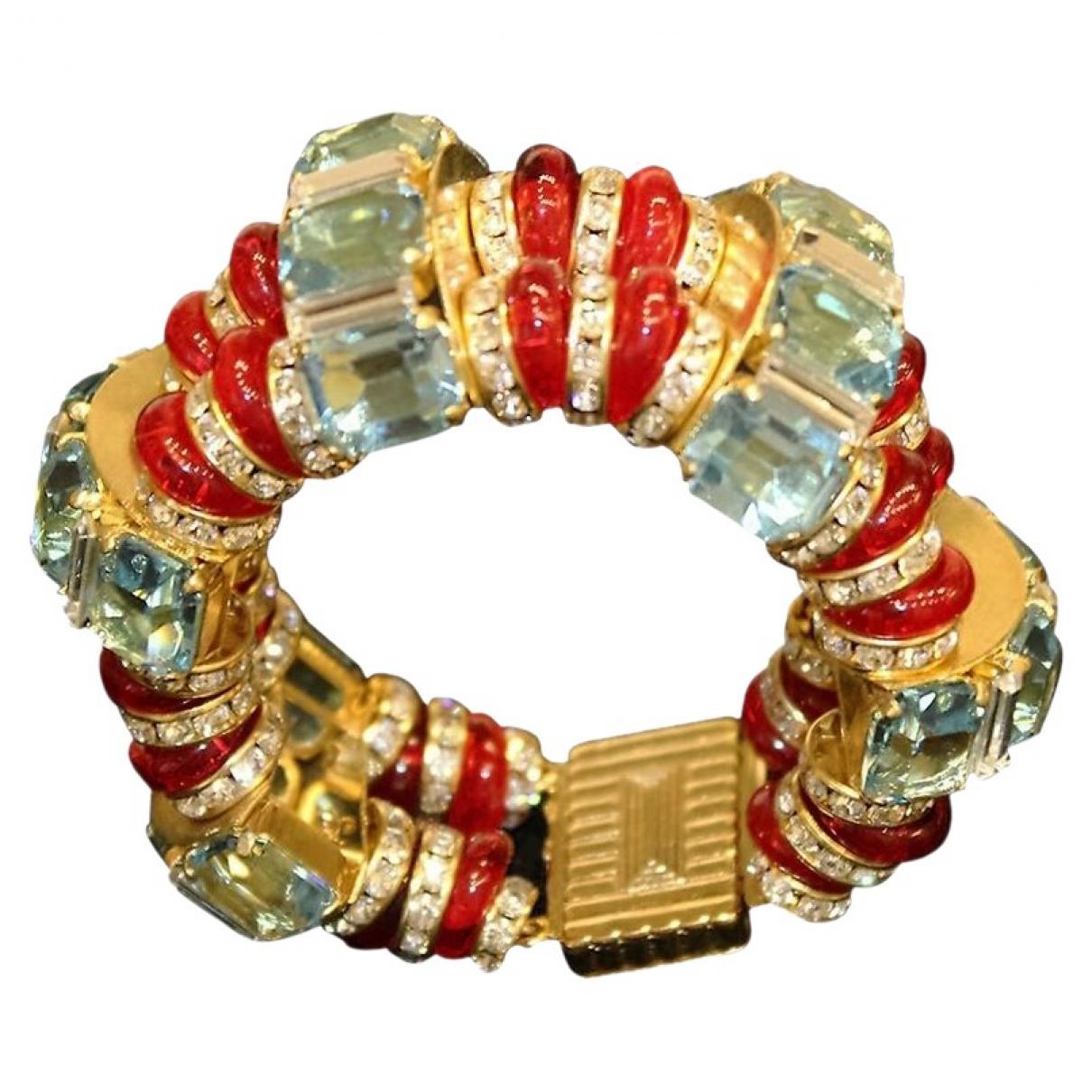 Carlo Zini \N Armband in  Gold Metall