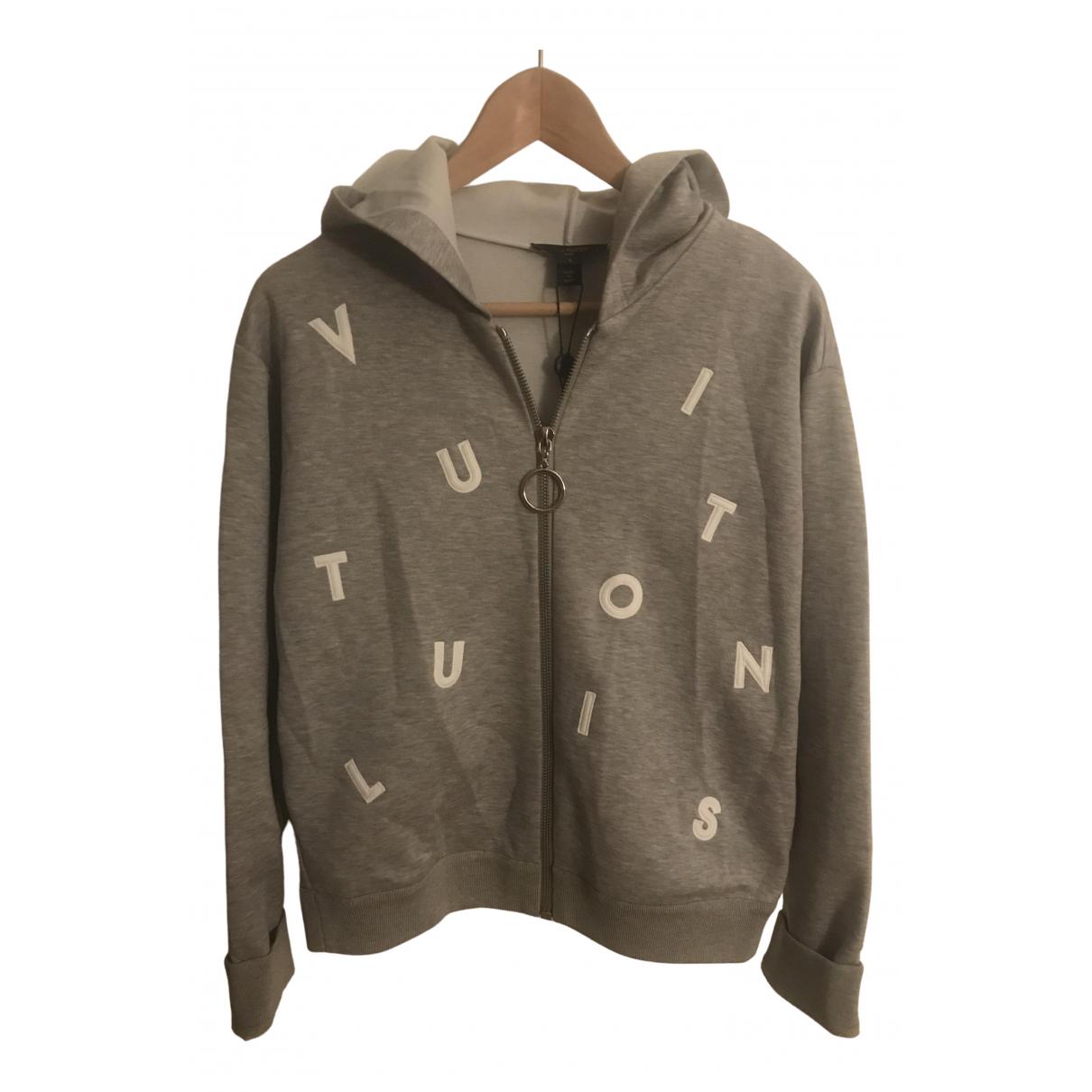 Louis Vuitton \N Pullover in  Grau Baumwolle